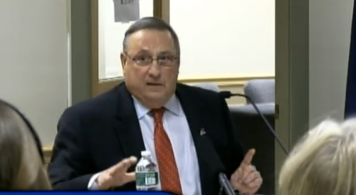 Paul LePage Makes Racist Claim About Drug Dealers Named D-Money Getting White Girls Pregnant