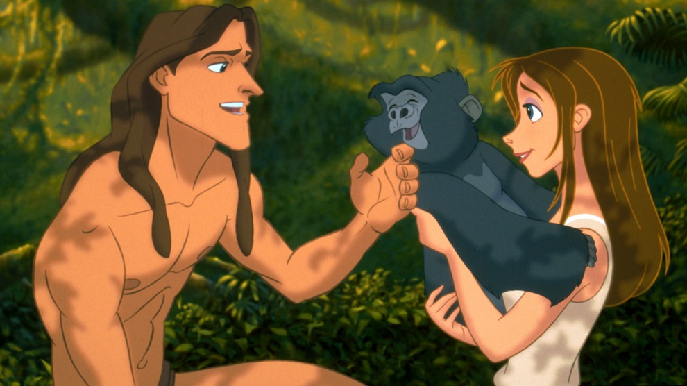 tarzan, gorilla spirit